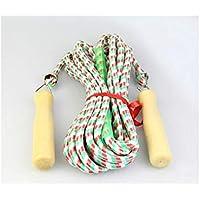 LridSu Juegos de Equipo de Salto de Cuerda Extra Largos de 1 Pieza Cuerda de Salto para Ejercicio de Cardio y programas de pérdida de Peso (tamaño : Length7m)