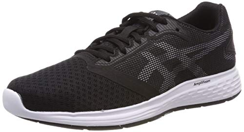 ASICS Patriot 10 1012a117-005, Scarpe Running Donna, Nero (Black), 41 1/2 EU