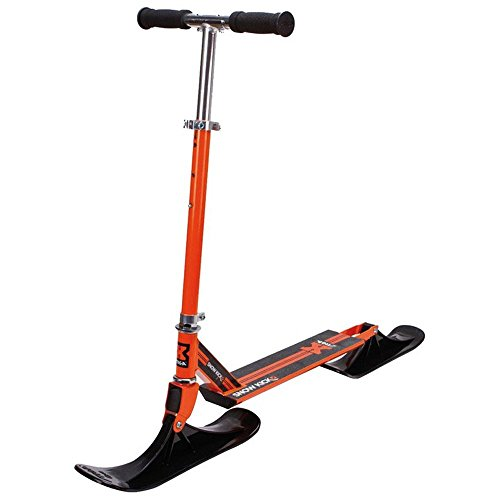 STIGA Snow Kick Cross Trick-Scooter für den Schnee orange Fahrrad