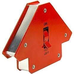 First4magnets WM-S-1 Aimant de soudage multi-angle commutable 45 ° x 90 ° x 135 ° 13 kg/30 lb
