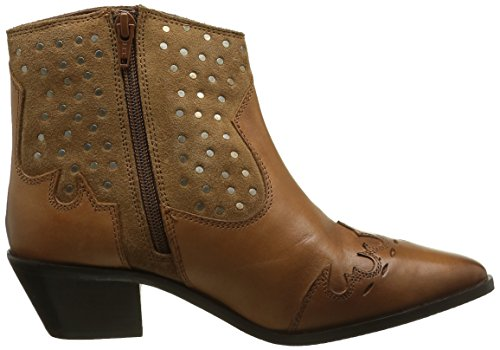 Pepe Jeans London Damen Dina Studs Chelsea Boots Braun (NUT BROWN877)