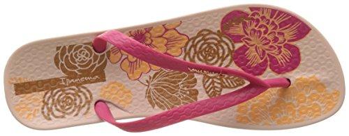 Ipanema Anat Temas Vi Fem, Tongs Femme Rose (Pink)