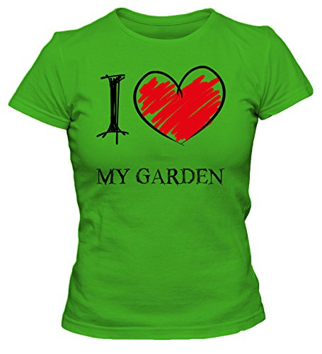 i-love-my-garden-fun-damen-t-shirt-grun-m