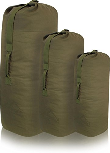 "US Canvas-Baumwolle Seesack Duffle Bag ""Classic Sea"" OLIV"