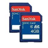 SanDisk SDHC 4GB Speicherkarte (Doppelpack)