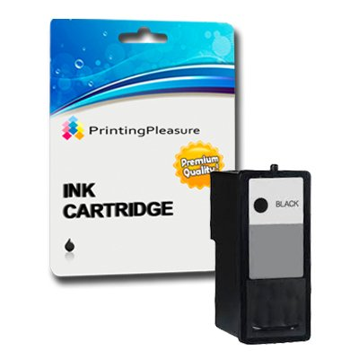 Preisvergleich Produktbild Printing Pleasure Schwarz Tintenpatrone kompatibel zu Dell Serie 9 MK990 für Dell 926,  V305,  V305W