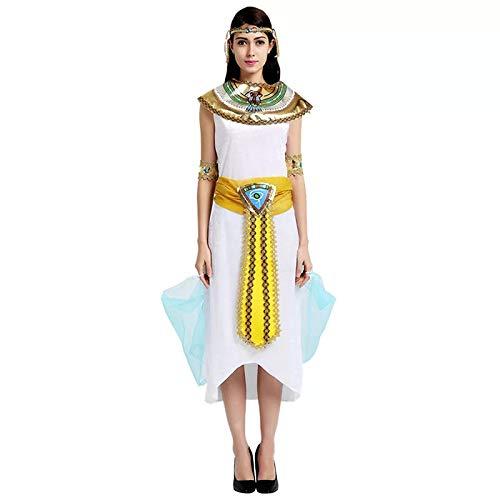 Frauen Kostüm Aphrodite - thematys Cleopatra Aphrodite Göttin Kostüm-Set für Damen - perfekt für Fasching, Karneval & Cosplay - Einheitsgröße 160-180cm