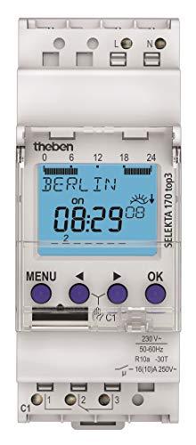Theben SELEKTA 170 top3 - Horloge à programme astronomique 1 canal (1700130)