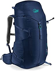 LOWE ALPINE AIRZONE TRAIL ND32 WOMENS BACKPACK (BLUE PRINT)