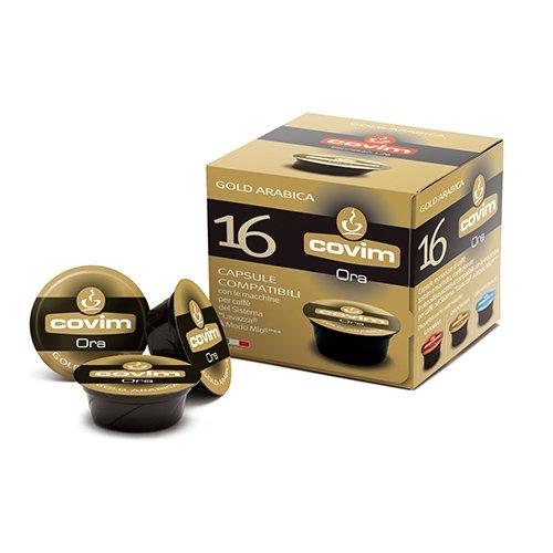 256 Cialde Capsule Caffe' Compatibili Lavazza a Modo Mio Covim Ora Gold Arabica