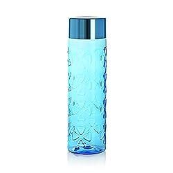 Cello Maple Plastic Bottle, 1 Litre, Blue