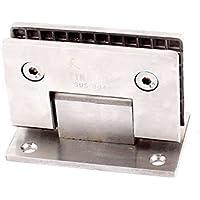 11mm Dicke 90 Grad 304 Stainless Steel Badezimmer Glas Scharnier Klemme Stütze de
