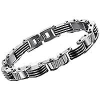 Preisvergleich für Y&M Männer Mode einfach Cool Titan Stahl Armband