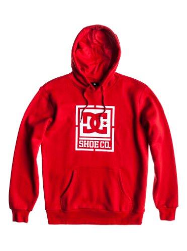 DC Shoes Herren Sweatshirt PH Fleece AS Gelly, Athletic red, M, DPMSW112-ATHD