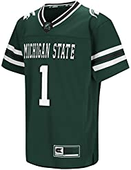 "Michigan State Spartans NCAA ""Hail Mary Pass"" Youth Jeunes Football Jersey Maillot"