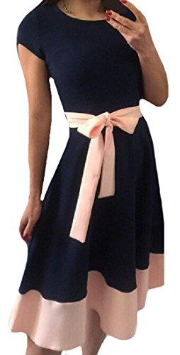 Tootlessly-Women Damen Kleid Gr. X-Small, blau Junior Strapless Kleider