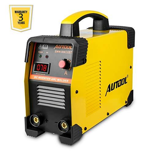 Saldatrice Inverter ad Elettrodo, Voltaggi Doppie 110V / 220V, 160Amp Saldatrice ad...