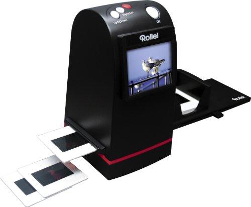 Rollei DF-S 190 SE - Dia-Film-Scanner mit 9 Megapixel und 2.4 Zoll Farb-TFT-LCD Display und umfangreichem Zubehör, für Speicherkarten bis zu 16GB - Schwarz - 2