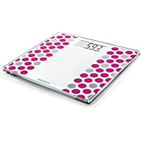 Soehnle Style Sense Compact 300 - Bascula de bano digital, blanco