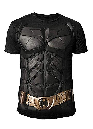 DC Comics - Batman Arkham City Herren T-Shirt - Armor Suits (Schwarz) (S-XL) ()