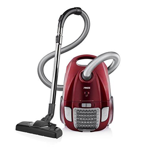 Aspirateur Princes 333001 Power Deluxe - Aspirateur avec sac à poussière - Classe AAA