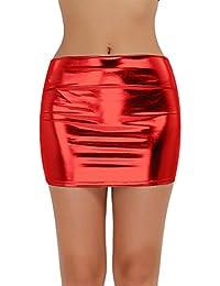 f0f847e4eb68 Suchergebnis auf Amazon.de für: Lederrock Leder Rock - Damen: Bekleidung