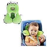 G-Baum Baby-U-förmigen Kopf Unterstützung Infant Head and Neck Support-Baby-Nackenkissen für Autositz, Kinderwagen, Babyautositz und Kinderwagen Kopfstütze Kissen für 0-4 Jahre alte Baby (Green Frog)