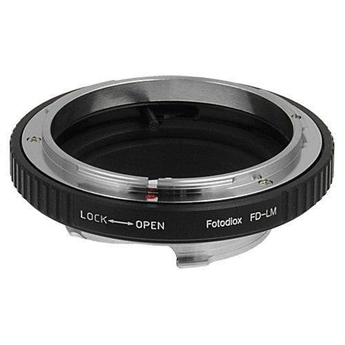 Fotodiox adaptateur pour objectifs canon fD sur appareil photo leica m, fotodiox adaptateur de monture d'objectif to fD pour canon, leica bracelet camera fits m monochrome, m8.2, leica m9/m9–p, m10 mount ricoh gXR a12, and fits original fD fL avec les objectifs fD