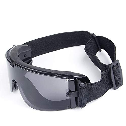Das Ende der Wüste Winddichte Reitbrille und Live-Vibrationsbrille mit Motorradbrille (Farbe : Beige)