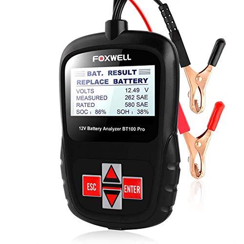 GST&GST Auto-Batterie-Prüfvorrichtung 12V Auto 100-1100CCA Batterie-Analysator Gesundheit/Störungen Detektor-Automobil Bösartige Zellen Test Tool-Digital-Analysator