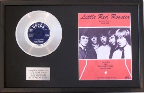 the-rolling-stones-178-cm-platinum-disc-spartito-little-red-rooster