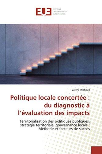 Politique locale concertée : du diagnos...