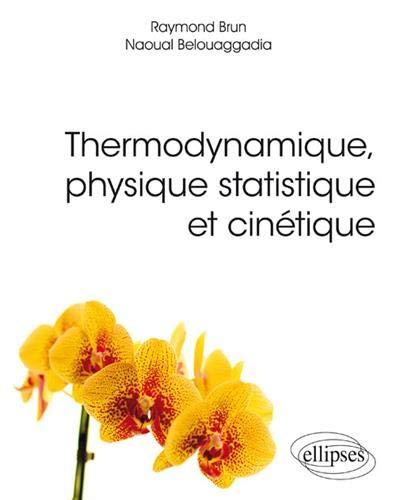 Thermodynamique, physique statistique et cinétique par Raymond Brun