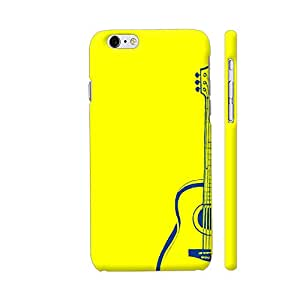 Colorpur iPhone 6 Plus / 6s Plus Cover - Guitar On Yellow Printed Back Case