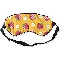 Strawberry Flower Seamless Illustration Sleep Eyes Masks - Comfortable Sleeping Mask Eye Cover For Travelling... preisvergleich bei billige-tabletten.eu