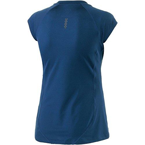 Asics Damen Comfortable T-Shirt Blau