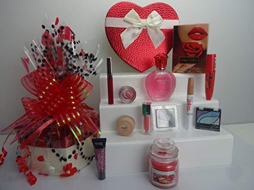 Noël vente ~ 10pc Parfum et maquillage Boîte cadeau Ensemble cadeau gratuit Cadeau Emballé