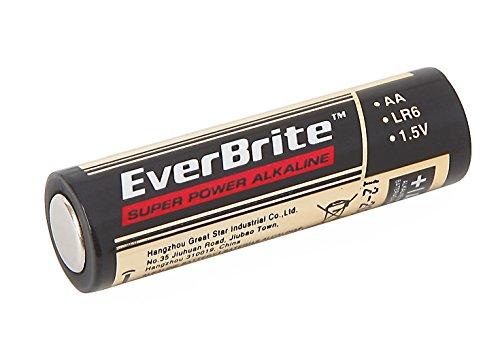 Haute E006013ae alcalines AA batterie (lot de 24)