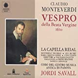 Monteverdi : Vespro Della Beata Vergine, 1610 [Import anglais]