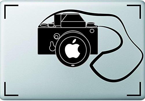 Kamera-Design Macbook Sticker, ideal für Laptops und Macs Fotografen, Foto