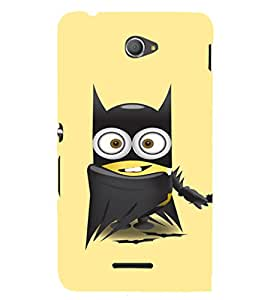 Ebby Printed back cover for Sony Xperia E4(Premium Designer case)