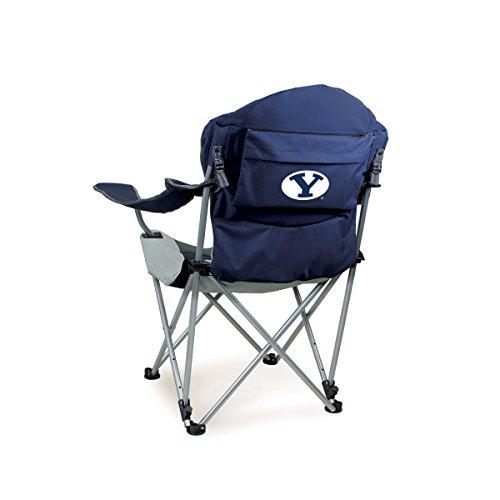 Picknick Zeit liegend Camp Stuhl (Brigham (Young Universität) Digital Bedruckt, Marineblau, One Size -