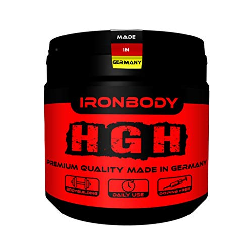 Ironbody HGH Formula, 250 Kapseln Dose (Made in Germany!)