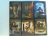 Konvolut: 9 DVDs: Herr der Ringe: Die Gefährten, Die zwei Türme, Die Rückkehr des Köngs. Der Hobbit: Eine unerwartete Reise,