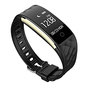 Fitness and Wellness Activity Tracker Smart Watch for Android IOS Vneirw S2 0.96 Inch IP67 Waterproof Sport Watch With Heart Rate Monitor Watch Intelligent