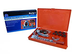 Blue Spot 22132 Metric Flaring Kit (10 Pieces)