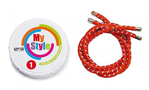 Casco MyStyle Helmstreifen, rot, S