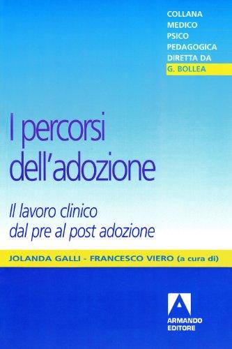I percorsi dell'adozione. Il lavoro clinico dal pro al post adozione di Jolanda Galli,Francesco Viero