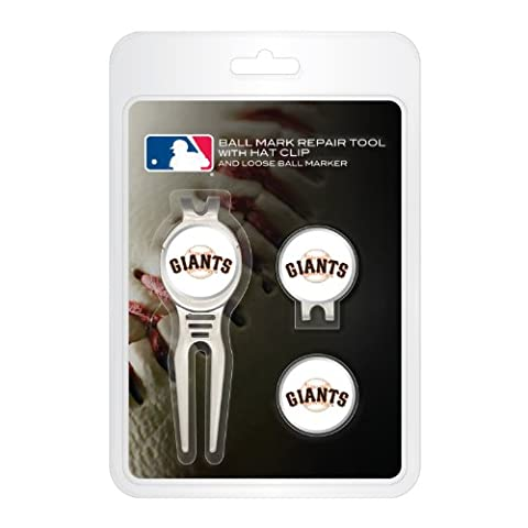 MLB San franciscogiants Cool Werkzeug, Kappe Clip, und Ball Marker Clamshell Pack