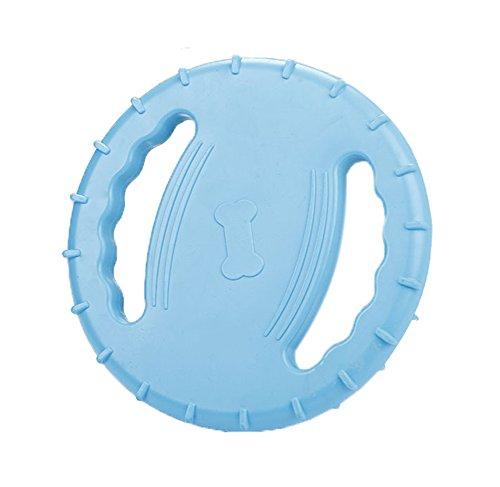 Quner Pet Frisbee Squeak Farbe hell Fliegen, hohl, weic… | 00191383730803